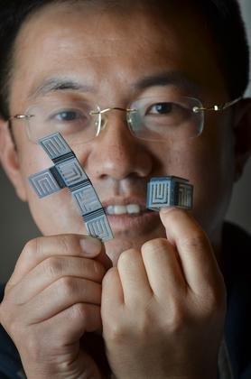 Jerry Qi (Resim: Glenn Asakawa, Colorado Boulder Üniversitesi)