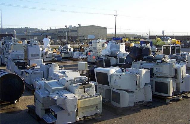 Elektronik atık (Resim: Flickr, CC BY 2.0)