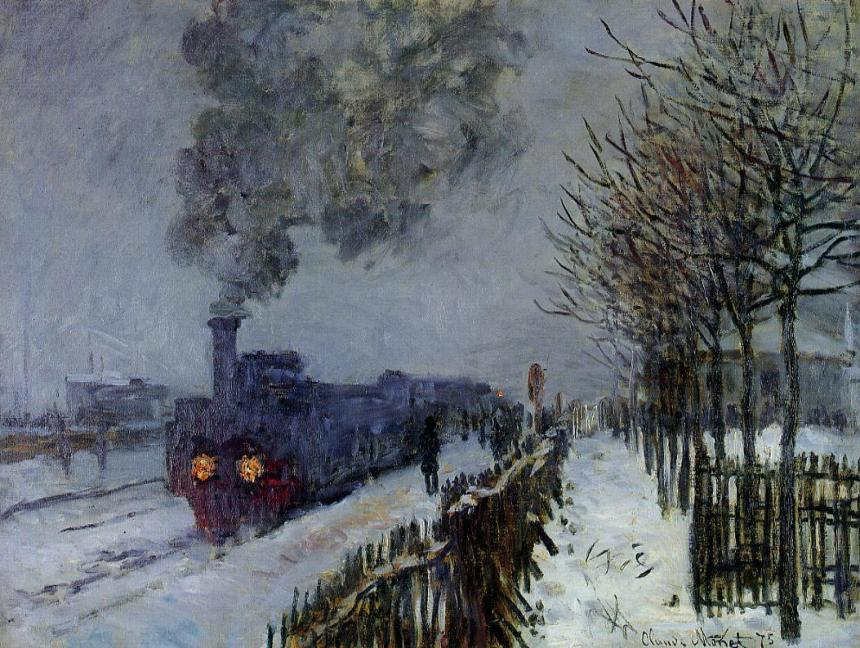 Claude_Monet_-_Train_in_the_Snow